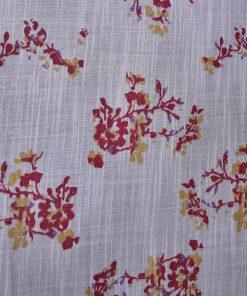 Heart Print On Cotton Fabric 8468