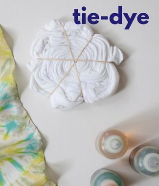 tie-dye - ikat - charu creation blog - colors - printing technique - printed fabric