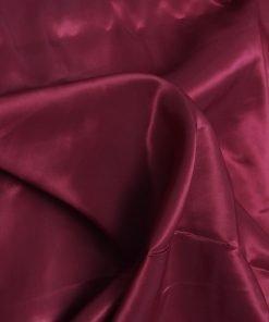 Maroon colour plain poly taffeta dress material fabric