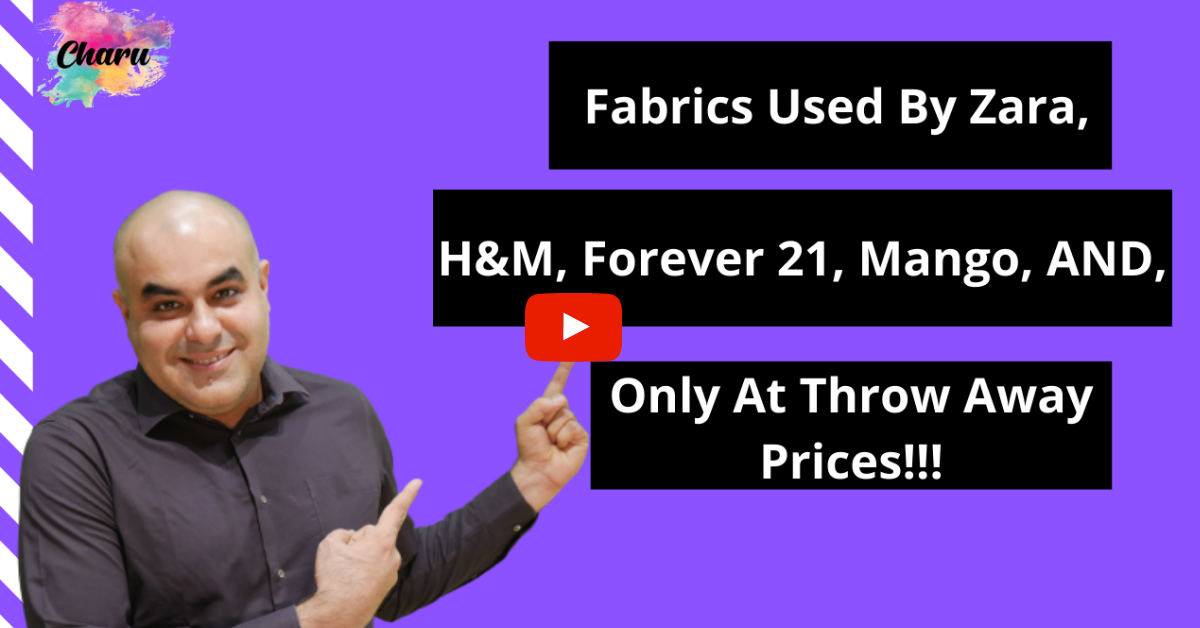 FABRIC USED BY H&M AND ZARA