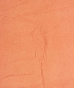 Solid Orange Colour Felt Wool Dress Material Fabric