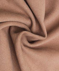 Brown colour felt wool dress material fabric