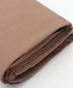 Brown colour felt wool dress material fabric