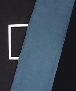 Greycolor print design on corduroy Lycra dress material fabric