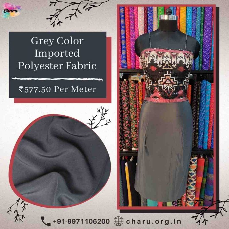 Polyester Crepe Fabric Draping | Office Wear & Home Furnishing Fabric |